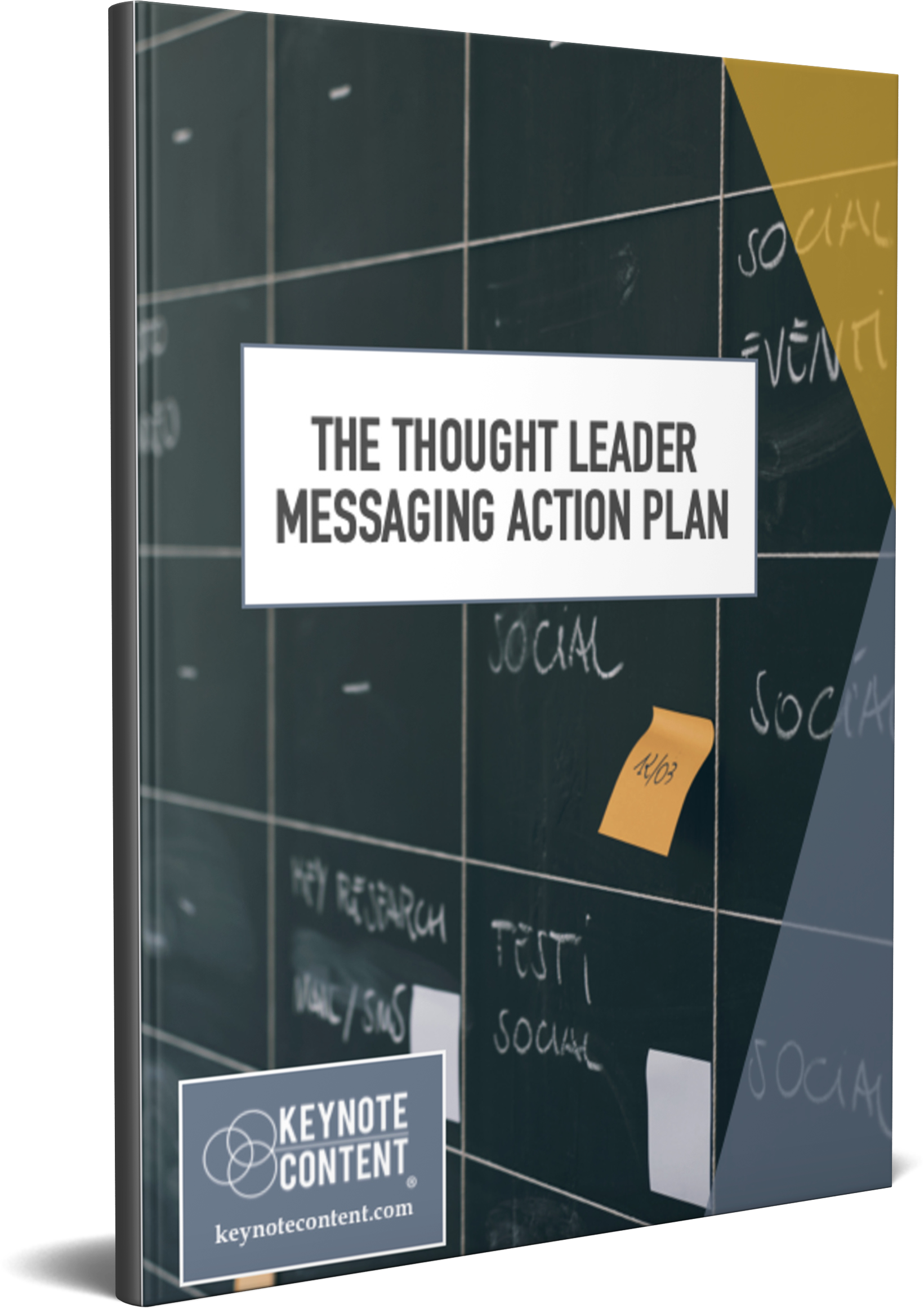 The Thought Leader Messaging Action Plan | Keynote Content with Jon Cook